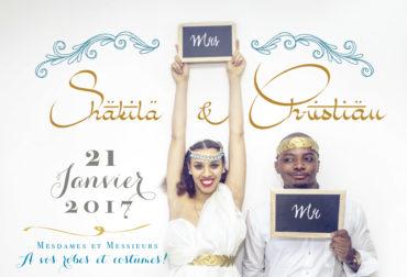 Décoration mariage jour J de Shakila et de Christian Munkeni