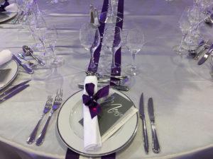 Décoraton de table de mariage par Agence Dorée