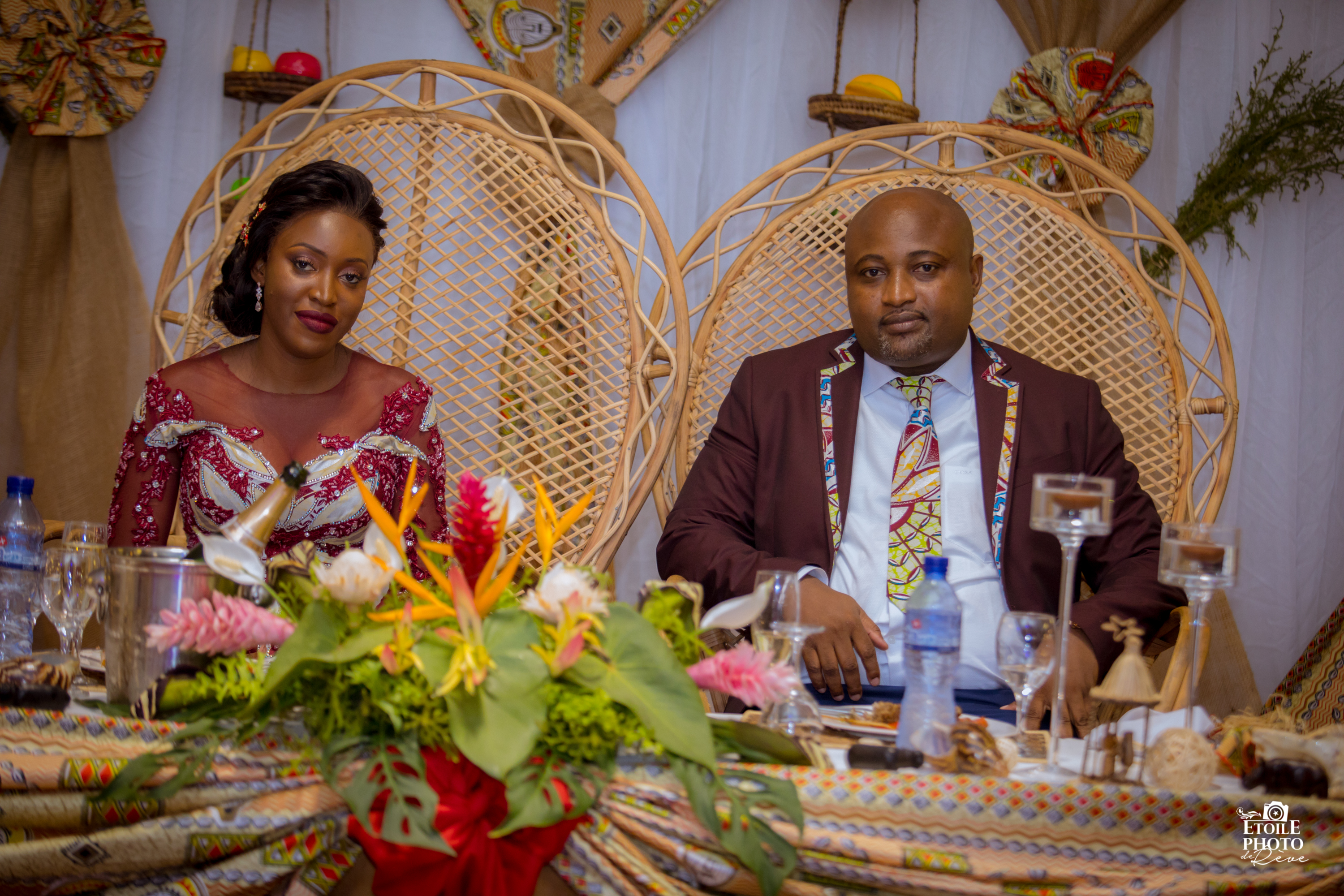 Mariage Traditionnel Congolais D Ornella Et Coco By Agence