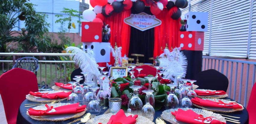 Casino Party pour Jeannou Tshibala by Agence Dorée
