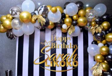 Happy 28th Birthday Sarah Likoko by Agence Dorée