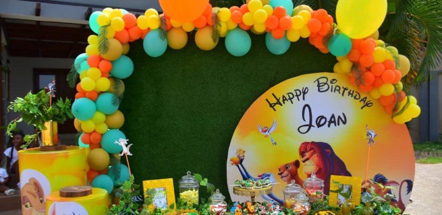 """""""Hakuna Matata"""" Joan's Birthday By Agence Dorée"""