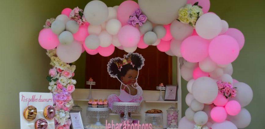 Princesse Birthday revisité pour Anaelle by Agence Dorée