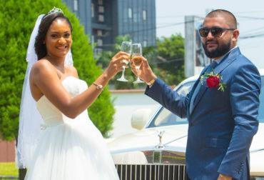 Mariage du couple Ericka & Moise Samnani sur le thème de la Saint Valentin