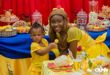 Deux ans de Victoria sur le thème Belle & la Bête by Agence Dorée
