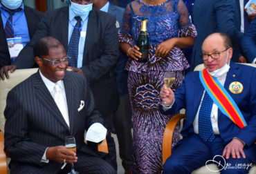 Vernissage des Mémoires du Président Honoraire du Sénat, l'Honorable Kengo Wa Dondo by Agence Dorée