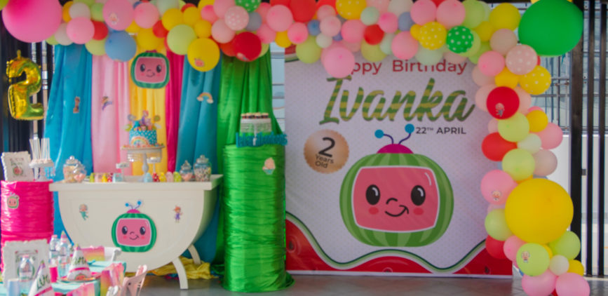 Coco melon birthday party for Ivanka by Agence Dorée