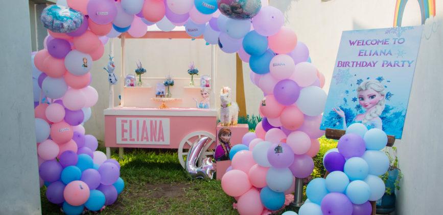 Anniversaire d'Eliana sur le thème Reine des neiges by Agence Dorée