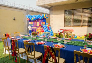FC Barcelone Birthday Party for Oscar by Agence Dorée
